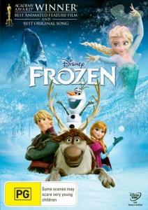 Regala il DVD di Frozen  per natale