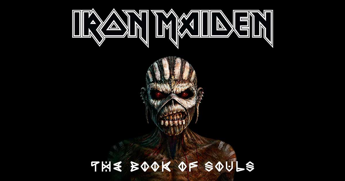 Iron Maiden - Book of Souls  1